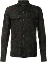 11 By Boris Bidjan Saberi '11 Camo' denim jacket - men - Cotton - L