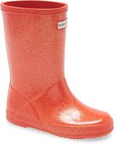 Hunter First Classic Starcloud Glitter Rain Boot