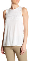 Joe Fresh Palm Lace Tank