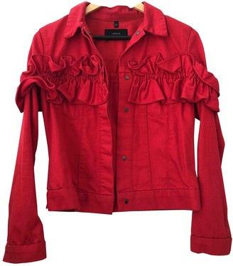 J Brand X Simone Rocha Red Denim - Jeans Jackets