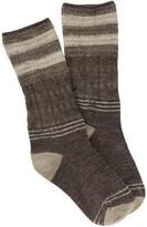 Smartwool Metallic Stripe Cable Mid-Calf Socks