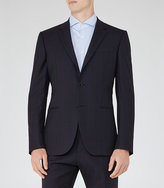 Reiss Baggio B Checked Wool Blazer