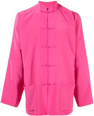 Shanghai Tang crepe Tang jacket