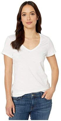 Toad&Co Marley II Short Sleeve Tee (White) Women's Clothing