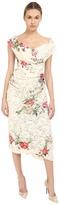Vivienne Westwood Lotus Flower Lace Cocotte Red Carpet Dress