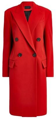 Proenza Schouler Long Double-Breasted Coat