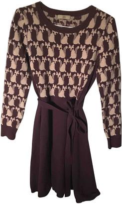 Orla Kiely Burgundy Wool Dresses
