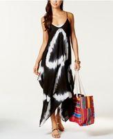 Raviya Tie-Dye Handkerchief Maxi Dress Cover-Up