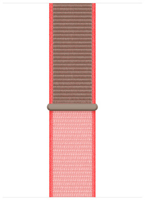Apple 44mm Neon Pink Sport Loop