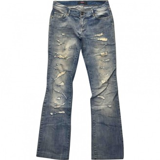 Versus Blue Cotton Jeans for Women