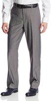 Geoffrey Beene Men's Modern Fit Textured Pindot Dress Pant