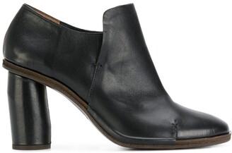 Del Carlo Circular Heel Boots