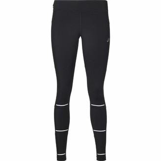 Asics Lite-Show Women's Winter Running Tights - Small Black