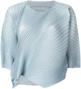 Pleats Please Issey Miyake structured pleated blouse