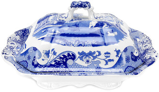 Spode Blue Italian Vegetable Dish And Cover
