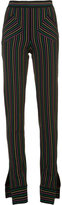 J.W.Anderson striped trousers - women - Cotton - S