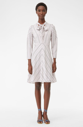 Rebecca Taylor Tailored Juniper Stripe Dress