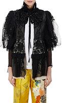 Dries Van Noten Women's Cavour Embellished Cotton Victorian Jacket-Black
