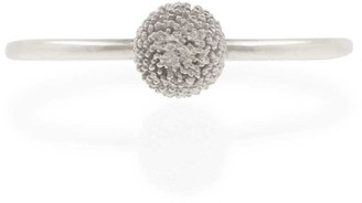 Lee Renee Dahlia Stacking Ring Silver