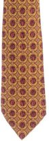 Hermes Melon Print Silk Tie