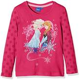Disney Girl's Frozen Queen Forever T-Shirt,8 Years
