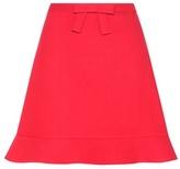 RED Valentino Crêpe Miniskirt