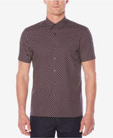 Perry Ellis Men's Classic-Fit Geo-Print Shirt