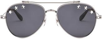 Givenchy Star Detail Aviator Sunglasses