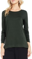Vince Camuto Women's Ruched Sleeve Top