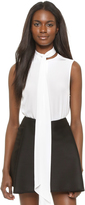 Dion Lee Neck Tie Sleeveless Shirt