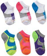 Gold Toe Girls 4-16 GOLDTOE 6-pk. Cushion Liner Socks
