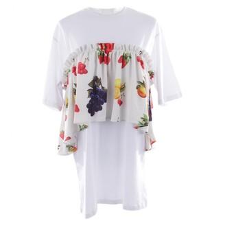 MSGM White Cotton Dresses