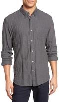 Billy Reid Men's Crinkle Pocket Sport Shirt