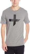 Tavik Men's Fragments Printed T-Shirt, Heather Grey
