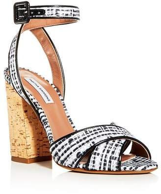 Tabitha Simmons Women's Connie Ankle Strap High Block-Heel Sandals - 100% Exclusive
