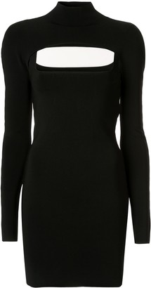 Dion Lee fitted mini dress