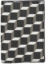 Pierre Hardy Wallet In White-black Leather