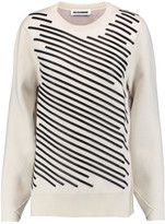 Jil Sander Embroidered cashmere-blend sweater