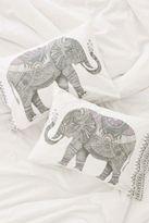 Magical Thinking Garden Elephant Pillowcase Set