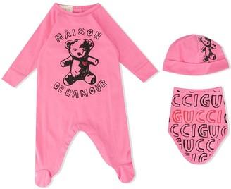 Gucci Kids Maison De L'Amour pyjamas