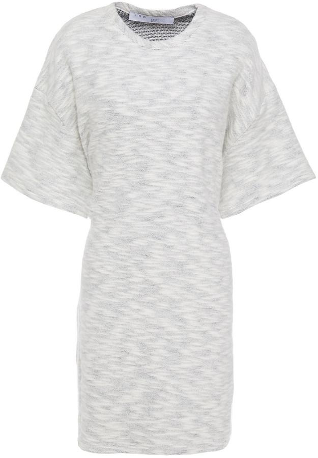 IRO Melange Cotton Mini Dress