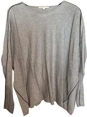 Maje Grey Silk Knitwear for Women
