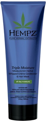 Hempz Triple Moisture-Rich Herbal Whipped Creme Conditioner and Hair Mask