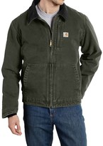 Carhartt Full Swing Sandstone Jacket - Fleece Lined (For Big and Tall Men)