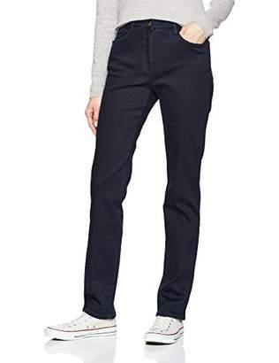 Brax Women's Mary, Thermo Denim, wärmend Slim Jeans, (Clean Dark Blue 22)