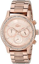 Lacoste Women's 2000834 Charlotte Rose Gold-Tone Stainless Steel Watch