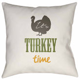 Surya It'S Turkey Time Throw Pillow Cover