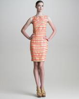 Thakoon Striped Paneled Dress