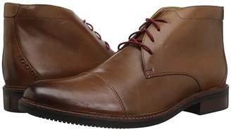 Bostonian Maxton Mid (Dark Tan Leather) Men's Shoes