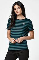 Vans Skate Patch 2 Stripe Ringer T-Shirt